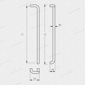 madlo Design hliník 2800-technický list