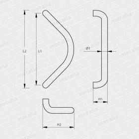madlo Design hliník 2902-technický list