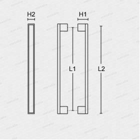 madlo 989 - černé-technický list