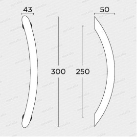 madlo 129v - mosaz mat-technický list
