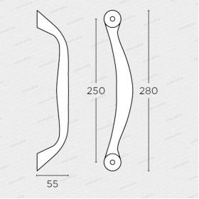 madlo 627 - mosaz mat-technický list