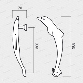 madlo Delfín M4-technický list