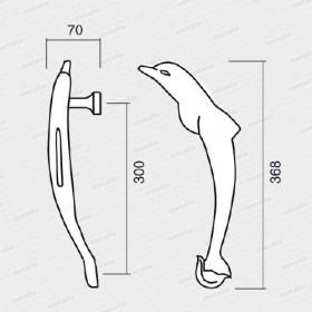 madlo Delfín PVD-technický list