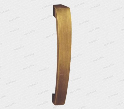 madlo Quadrato - mosaz bronz česaný