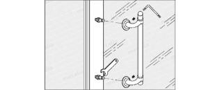 madlo na dveře z PVC